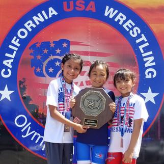 Stallion Wrestling Club wins state title