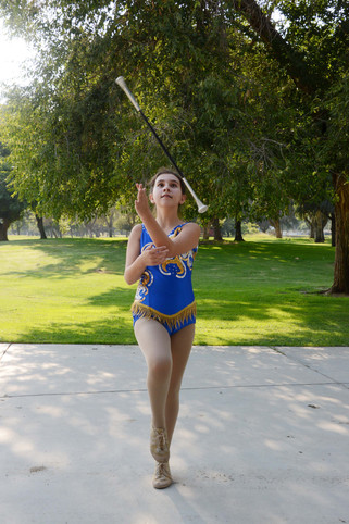 Sixth grader to compete in international twirling event
