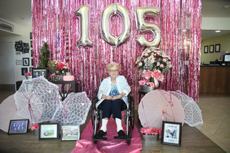 Velma Hansen celebrates 105 years