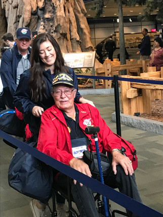 An honor flight for an American patriot