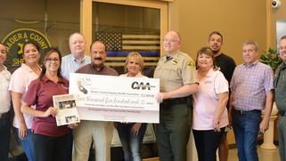 Companies donate to sheriff's  K-9 fund