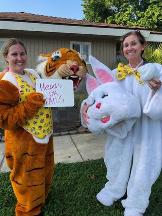 TEC gymnastics celebrates Easter
