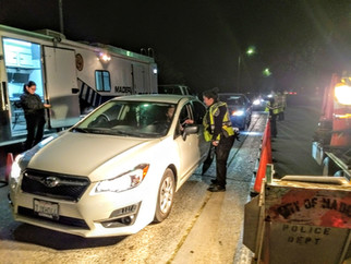 Weekend DUI checkpoint to be held