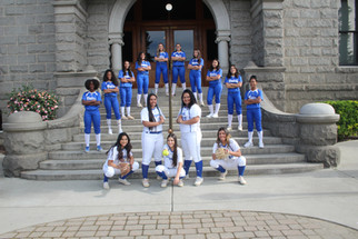 Coyotes softball team honored with award