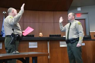 Pogue sworn in as sheriff