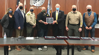 Board honors county workers