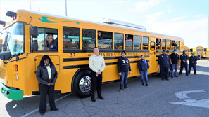 Madera Unified School District receives 5 all-electric school buses