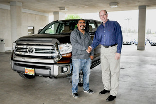 Dealership leads new decade with trucks of hope