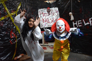Frights for funding: teens offer scares so they can serve