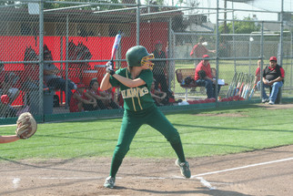 Former softball standout back at home