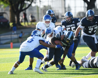 Knights blank Coyotes in CMAC clash