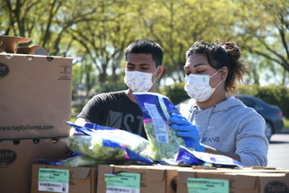 Food bank continues to help residents