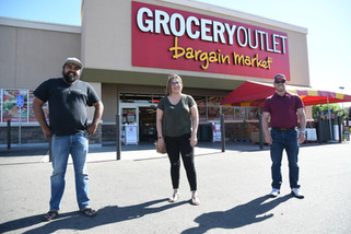 Gym owners unite with Grocery Outlet to provide families meals