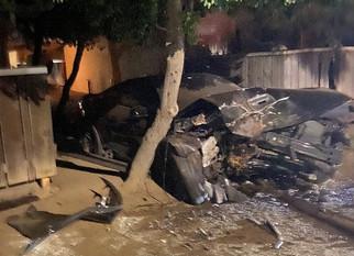 Man survives DUI crash