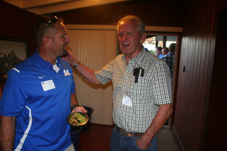 On this date: Annual alumni dinner unites former Coyote football players