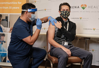 Camarena gives first COVID-19 vaccines to its employees