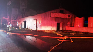 Fire guts vacant building