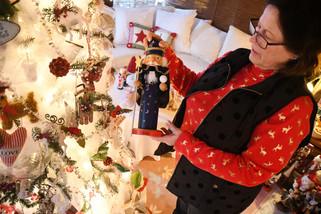 Christmas begins in October for resident