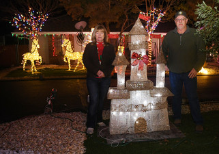 Madera Ranchos a little bit brighter this holiday