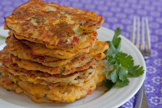 Corn cakes, for you and me