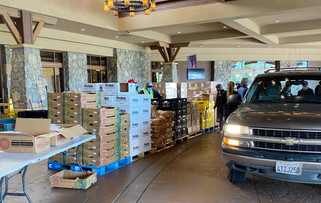 440 food boxes distributed to Eastern Madera County residents