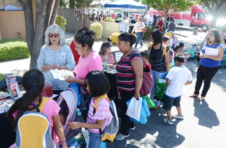 Health fair helps families in need