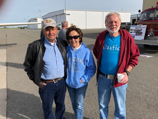 Sunrise Rotarians play hosts at fly-in breakfast