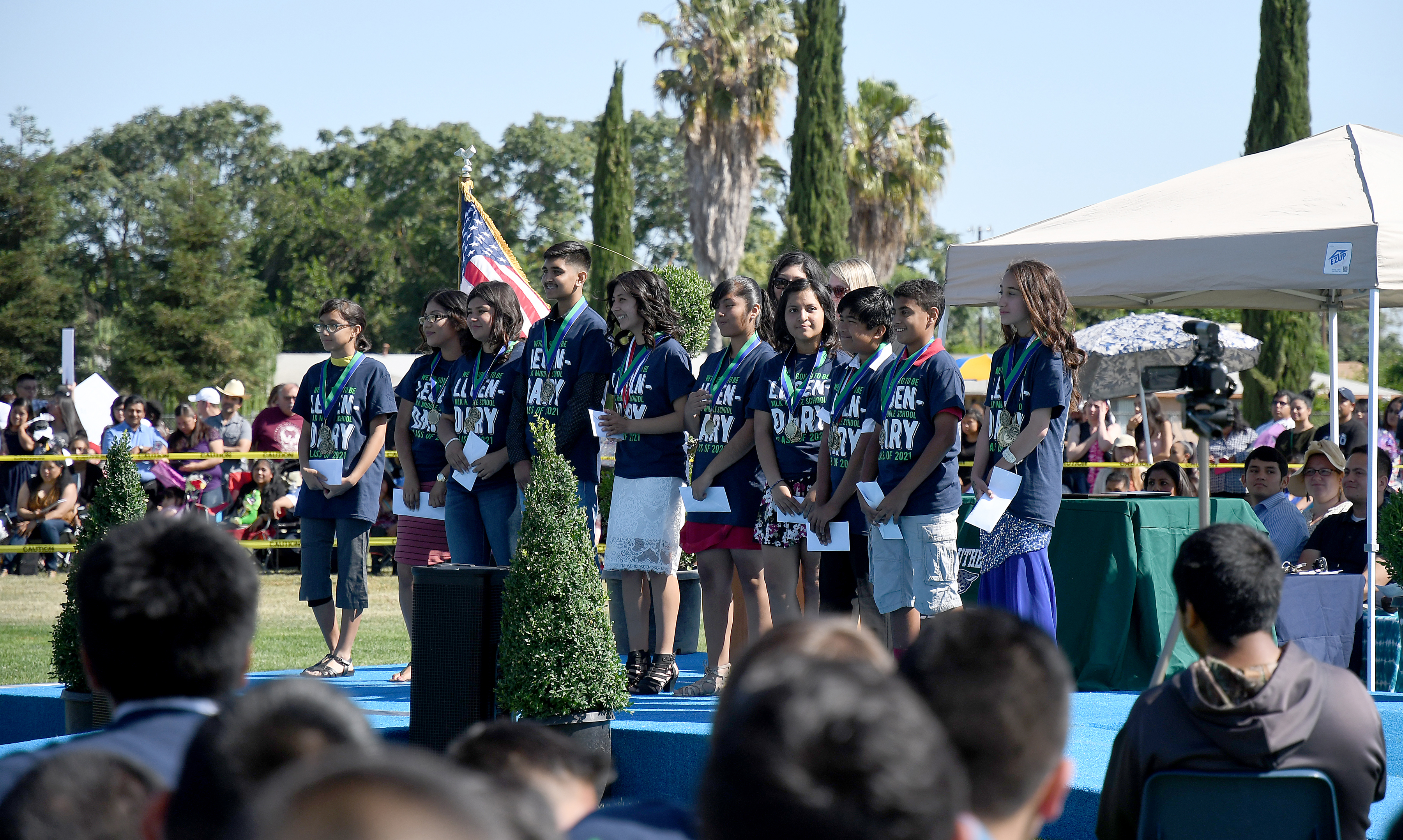 Angelica Sofia Saenz martin luther king middle school sees 437 promotions