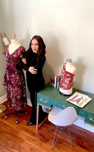 Madera grad enjoying life as a fashion designer