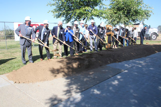 College breaks ground