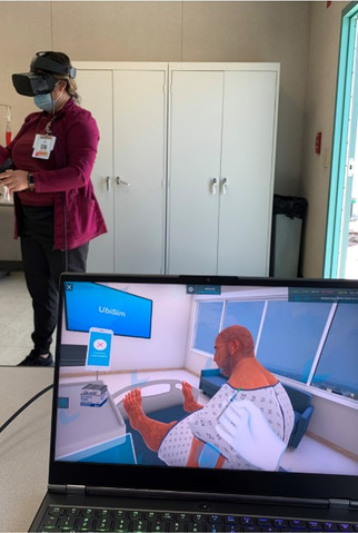 Virtual Reality helps students get clinical hours