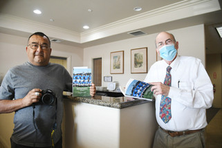Author gives glimpse of residents