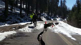 Key Yosemite roads closed due to damage