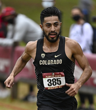 Herrera places second in first race