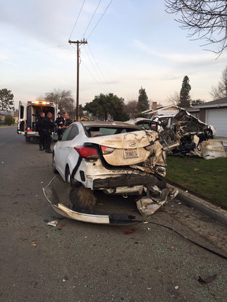 1 injured in collision