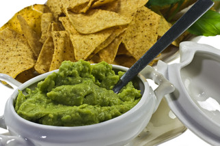 Guacamole shares glory with apples