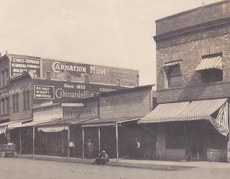 1918 fire brought 'urban  renewal'