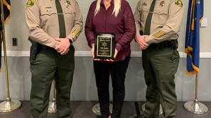 Sheriff's office honors Varney