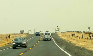 Wildfires bring smoke to the Central Valley