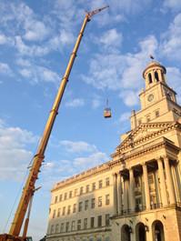 Historic construction documentation and condition survey