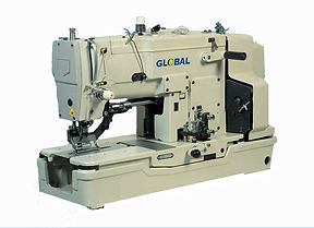 maury sewing machine, industrial sewing machine, buttohole machine, global buttonhole, global BH 783