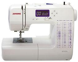 maury sewing machine, domestic sewing machine, maury janome machine, janome sewing machine, janome machine, computerised janome, computerised domestic sewing machine, janome 8050XL