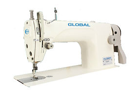 maury sewing machine, industrial sewing machine, special stitch machine, chain type hand stitch machine, global 100-p
