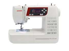 maury sewing machine, domestic sewing machine, maury janome machine, janome sewing machine, janome machine, computerised janome, computerised domestic sewing machine, janome DXL603