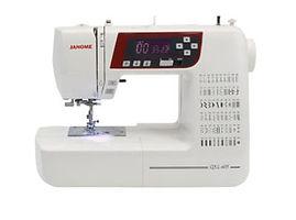 maury sewing machine, domestic sewing machine, maury janome machine, janome sewing machine, janome machine, computerised janome, computerised domestic sewing machine, janome QXL605