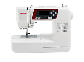 maury sewing machine, domestic sewing machine, maury janome machine, janome sewing machine, janome machine, computerised janome, computerised domestic sewing machine, janome XL601