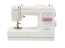 maury sewing machine, domestic sewing machine, maury janome machine, janome sewing machine, janome machine, janome 2522LE