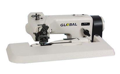 maury sewing machine, industrial sewing machine, felling machine, global felling machine, global bm361-31, blindstitch machine