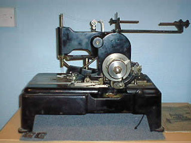 Maury Sewing Machine Company reece buttonhole