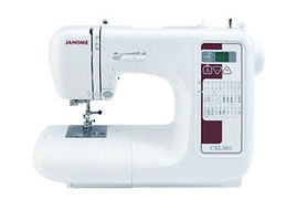 maury sewing machine, domestic sewing machine, maury janome machine, janome sewing machine, janome machine, computerised janome, computerised domestic sewing machine, janome CXL301